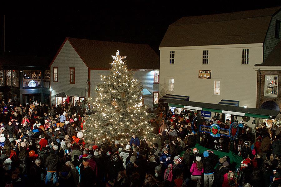 Christmas In Newport Ri 2019 49th Annual Christmas Tree Lighting   Bowen's Wharf