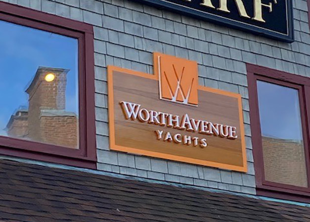 Worth Avenue Yachts Sign