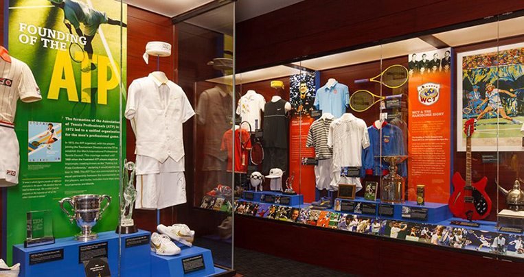 International Tennis Hall of Fame Exhibits