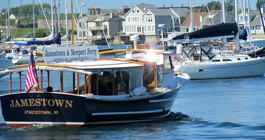 Jamestown Newport Ferry Boat
