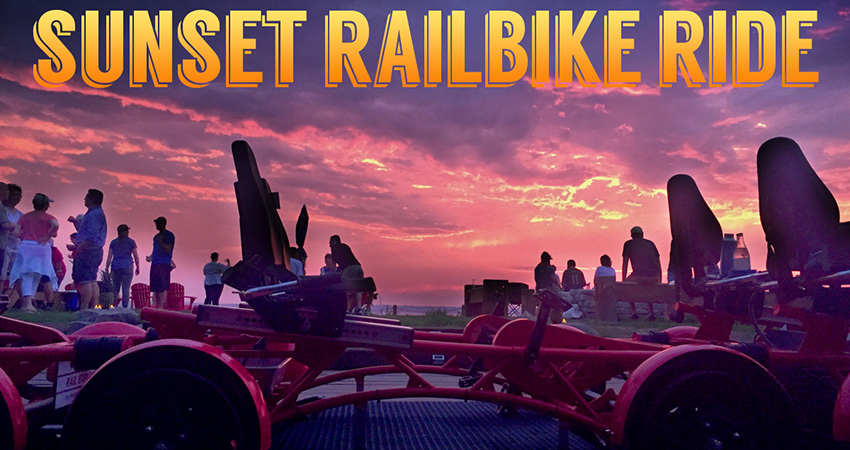 Rail Explorers Sunset Railbike Ride