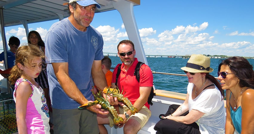 Fish N Tales Adventures Lobster Tour